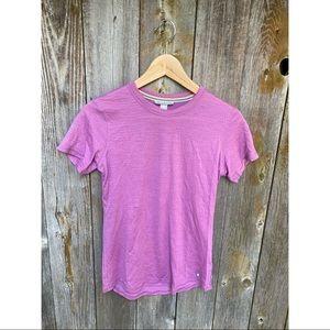 SMARTWOOL merino wool tshirt purple/pink size M